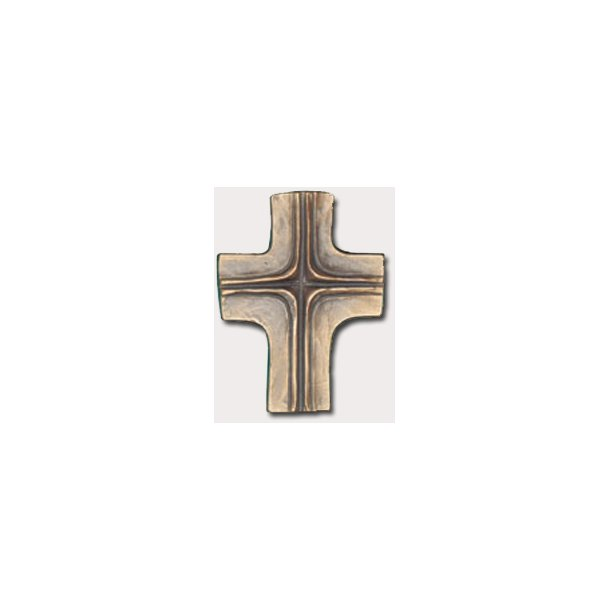 Kors i bronze
