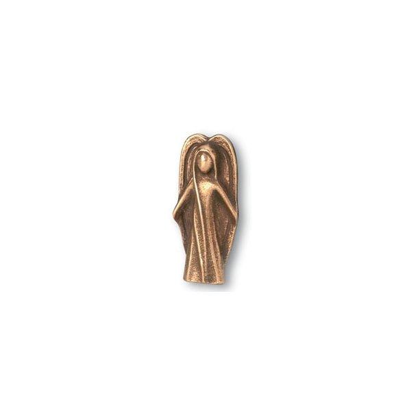 Engel i bronze, 5 cm høj