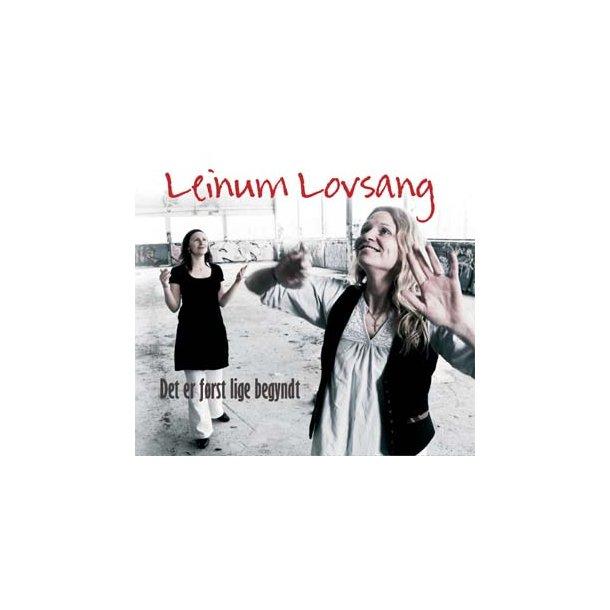 CD: Leinum Lovsang - Det er først lige begyndt