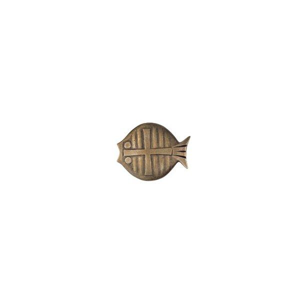 Kors i fiske-symbol til ophæng på væg