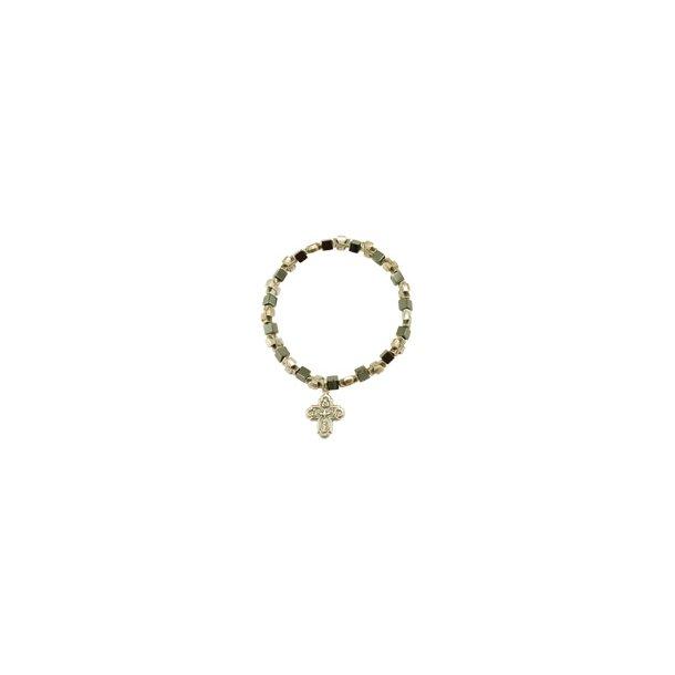 Armbånd med kors og andre kristne symboler