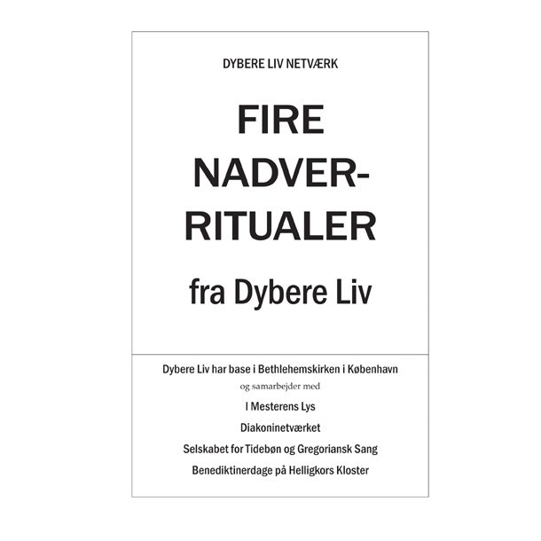 Fire nadverritualer  -  Eukaristi