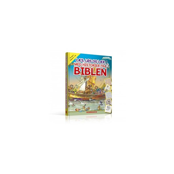 Læs, Løs og Lær med historier fra Biblen (4-7 år)
