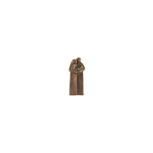 Kærlighed, (familie)figur i bronze