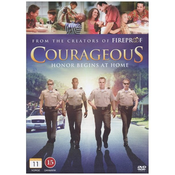 DVD: Courageous - Honor begins at home