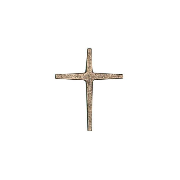 Kors i bronze - med struktur