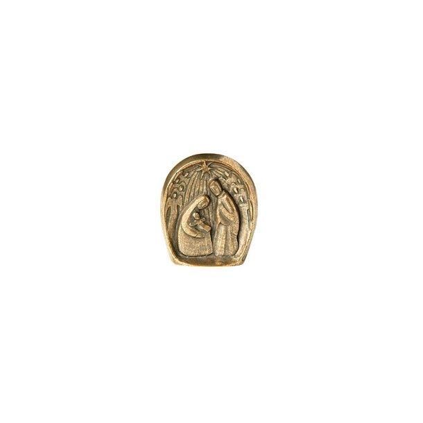 Julekrybbe i bronze (figur)