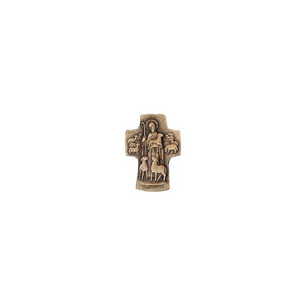 Bronze-kors DEN GODE HYRDE