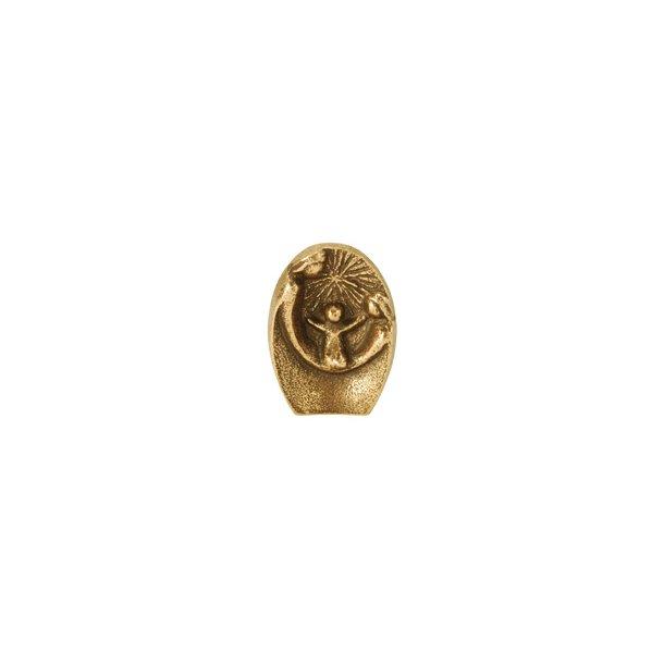 Betlehems-krybbe i bronze (figur)