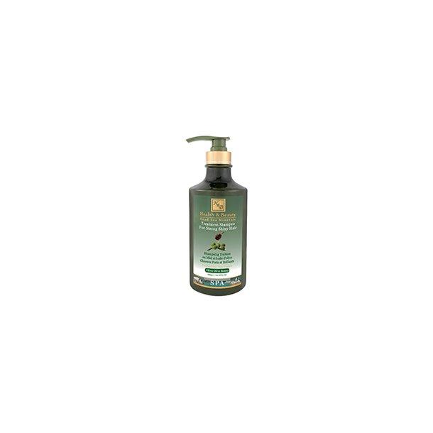 Shampoo med honning og olivenolie