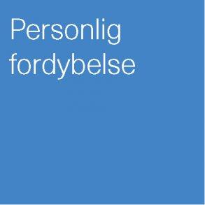 Personlig fordybelse
