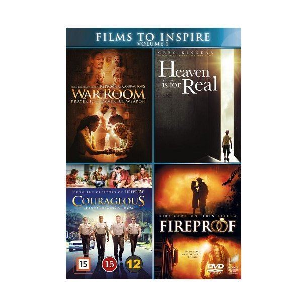 DVD: Films to Inspire - vol 1